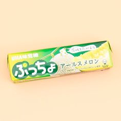 Puccho Chewy Candy - Ibaraki Muskmelon Japanese Grocery, Japanese Snacks, Japanese Candy, How To Make Jelly, Making Jelly, Jelly Cookies, Shortbread Cookies, Candied Lemons, Ibaraki