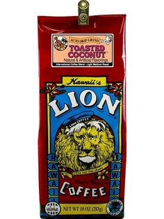 Hawaiian Value Pack Lion Coffee Ground Toasted Coconut 4 Bags >>> Read more reviews of the product by visiting the link on the image.  This link participates in Amazon Service LLC Associates Program, a program designed to let participant earn advertising fees by advertising and linking to Amazon.com.