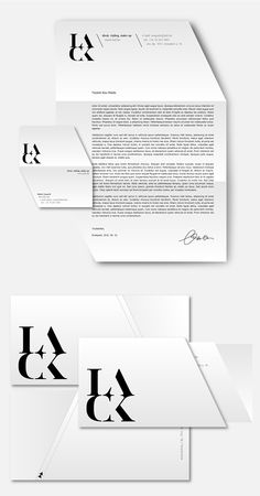 LACK magazine 1st concept / 2010 on Behance