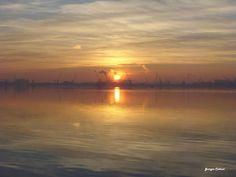 Tramonto a Marina di Ravenna (5 Gennaio 2013 ore 17.43) by @GiorgioCattani
