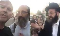 Australian man confronts Jews in Israel about Palestinians