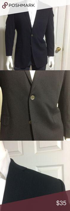 Calvin Klein navy blue slim blazer size 43 L Calvin Klein navy blue slim blazer size 43 L Calvin Klein Suits & Blazers Sport Coats & Blazers