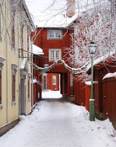 Old Town Gamla Linköping Sweden Europe, Sweden Travel, Visit Sweden, Beautiful Buildings, Beautiful Places, Advent House, Stockholm, Best Bucket List, Europe