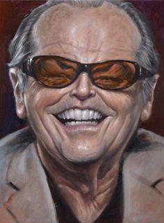 Jack Nicholson: Celebrity - CARICATURE: http://dunway.com