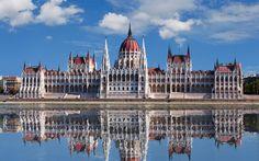 будапешт, парламент, венгрия, здание