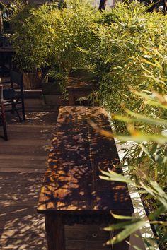 Giardino con divani e orto, Hotel Saraceno Milano Marittima