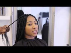 This is a trailer on how to overcome the major difficulty in Box Braiding Caucasian hair where you have to blend the fragile type Caucasian texture with a th...