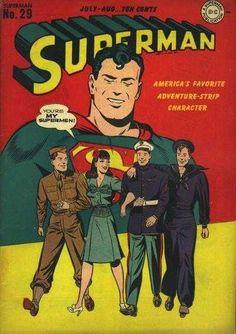 1944-07 - Superman Volume 1 - #29 - You're My Supermen! #SupermanFan #SupermanComics #Superman #ComicBooks  #DCComics