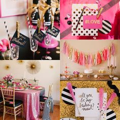 """Kate Spade Inspired """"Will you be my bridesmaid"""" party http://instagram.com/p/jxktSpPXgI/"""