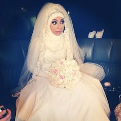 Cool Muslim Wedding Dresses sweetcookie10:  785875 | via Tumblr på We Heart It - weheartit.com/......