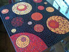 Mesa de mosaico                                                                                                                                                                                 Mais