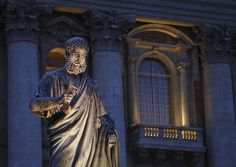 st peter's basilica balcony - Google Search
