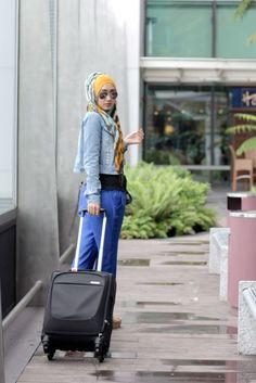 Hijab Street Style Dian Pelangi