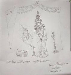 திருப்பாவை – Lavanya Rangaswami Vintage World Maps, Drawings, Art, Art Background, Kunst, Sketches, Performing Arts, Drawing, Portrait