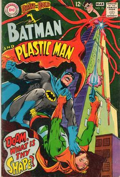 Batman and Plastic Man