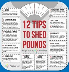 12 tips to shed pounds - PositiveMedPositiveMed | Where Positive Thinking Impacts Life