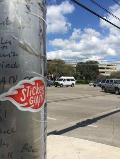 StickerGiant tagging Austin