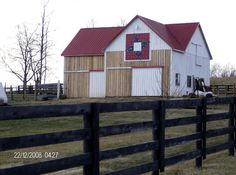 This is an awesome barn quilt and barn...