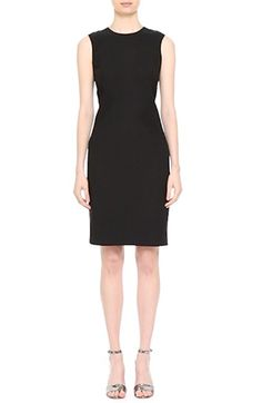 Alternate Video 8  - Lafayette 148 New York 'Laina' Luxe Italian Double Face Dress with Waist Combo