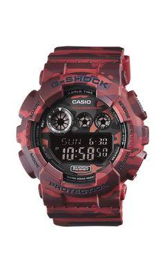 Casio G-Shock GD-120CM-4ER férfi karóra. Különleges külsővel rendelkezik 42d279b29c