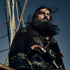 Whoever thought #NoBeardDay was a good idea clearly never met Blackbeard. #BlackSails