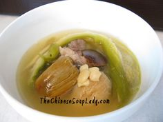 Night Blooming Cereus and Figs in Pork Broth - This unique soup is ideal for removing heaty phlegm and nourishing the lungs.  It is best for those with pathological heat and fire in their bodies