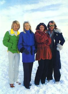ABBA in the snow
