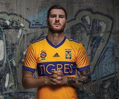 Camisas do Tigres UANL 2017-2018 Adidas