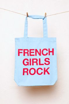 Sweet Talker, French Girls, Reusable Tote Bags, Rock, Lifestyle, Skirt, Locks, Rock Music, The Rock