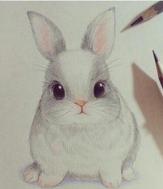Imagem de cute, drawing, and rabbit