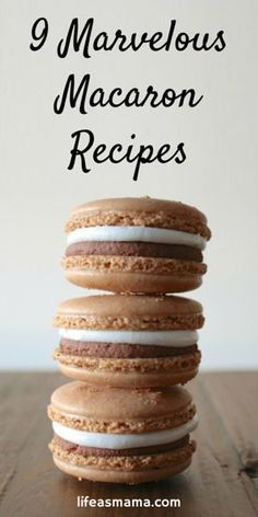 Ever wanted to make your own macarons? While it can't be called easy, the options for flavor and colors are endless! C'mon, give it a try!