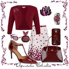A Single Rose by apostolicchickie on Polyvore featuring Kaliko, SUNO New York, Calvin Klein, Vivienne Westwood, Gucci, Annick Goutal, women's clothing, women's fashion, women and female