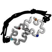 Double Puzzle Piece Autism Awareness Bracelet at The Autism Site