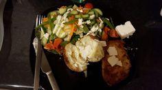 Salad HE a, piri piri chicken-aldi low syn