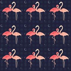 I've always loved flamingos and still regret not picking up a dress made of fabric similar to this...