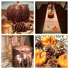 My home fall decor