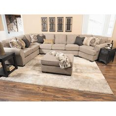 Picture of 4PC with RAF Cuddler Sectional