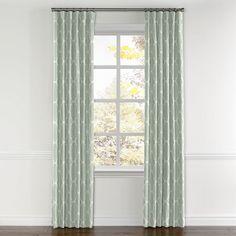 Beautiful White Tie top Curtain Panels