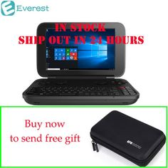 [In Stock]! GPD WIN Gamepad Laptop NoteBook Windows Tablet PC Handheld Game Console 4GB/64GB Video Game Player Bluetooth 4.1