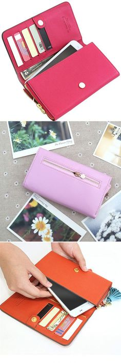 Women candy color hasp long wallet girls credit card holder phone bags case wallets 31 #iphone #6 #wallets #uk #wallets #bitcoin #wallets #in #twilight #princess #wallets #leather