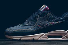 Nike Dresses the Air Max 90 Premium in Denim & Colorful Patterns
