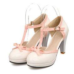 Lucksender Fashion T Strap Bows Womens Platform High Heel...  https://www.amazon.com/gp/product/B00XVYS3Y2/ref=as_li_qf_sp_asin_il_tl?ie=UTF8&tag=rockaclothsto-20&camp=1789&creative=9325&linkCode=as2&creativeASIN=B00XVYS3Y2&linkId=6cfdca3105b33ba003ba240bc74328e3