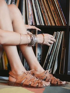 Free People Lolita Footbed Sandal at Free People Clothing Boutique