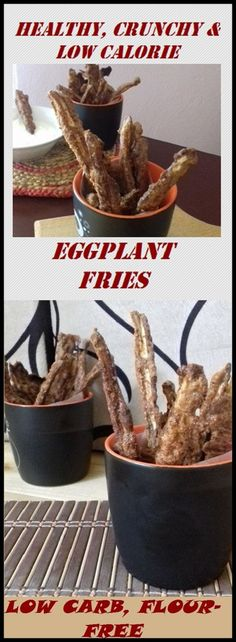 These are Low Carb, Crunchy, Salty, and Healthy Eggplant French fries. These eggplant fries are low-carb's/keto vegetable option. Keto Sweet Snacks, Easy Snacks, Keto Snacks, Eggplant Fries, Paleo Nutrition, Healthy Eggplant, Low Carb Vegetables, Veggies, Diet Plan Menu