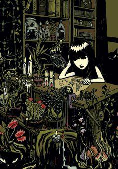 "Emily from the ""Emily the strange books"". She was my goth icon. Emily Strange, Strange Art, The Stranger Book, Wicca, Ruby Gloom, Memes Arte, Emo, Goth Art, Weird Art"