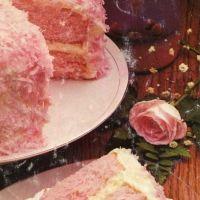 Strawberry Colada Coconut Cake Recipe
