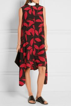 Silk Blend crepe Dress Fall/winter Marni