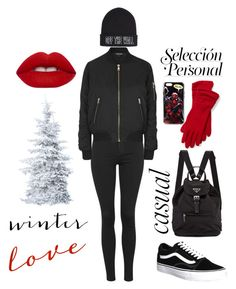"""""""Winter love"""" by moonlightfaythe ❤ liked on Polyvore featuring Topshop, Vans, Lime Crime, Ralph Lauren, women's clothing, women, female, woman, misses and juniors"""