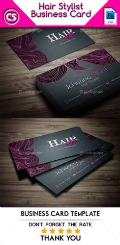 Hair Stylist Business Card - http://www.codegrape.com/item/hair-stylist-business-card/6025