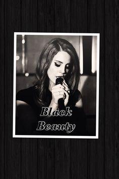 Lana Del Rey #LDR #Black_Beauty